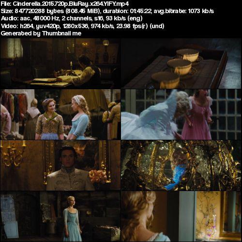 Cinderella (2015) 720p BrRip x264 - YIFY