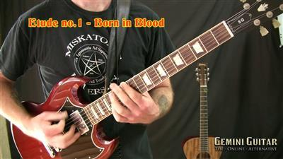 Gemini Video Guitar Lesson - Metal Riffing Volume One (2015)