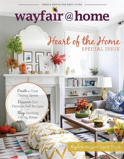Wayfair @ Home - Special Issue, October 2015