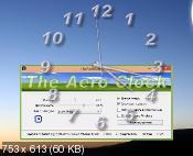 TheAeroClock 3.78 - аналоговые часы