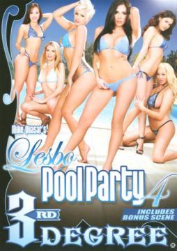 Lesbo Pool Party 4 / Лесбийская вечеринка у бассейна 4 (Mike Quasar, Third Degree Films) (2015) FullHD 1080p