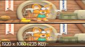 Пингвиненок Пороро: Большие гонки в 3Д / Pororo, the Racing Adventure 3D Вертикальная анаморфная