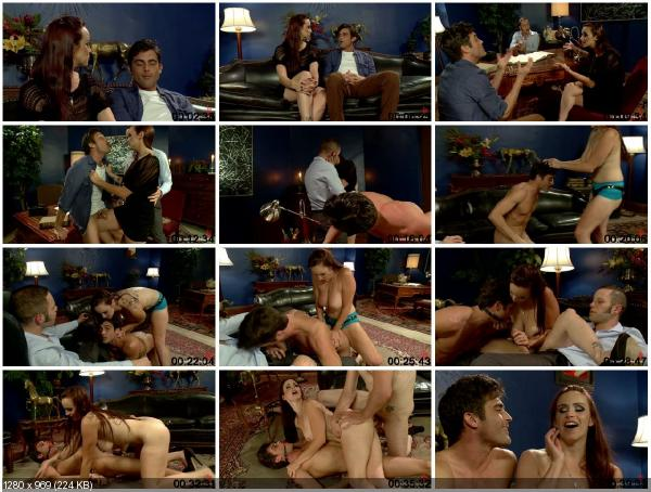 [DivineBitches.com / Kink.com] Wolf Hudson, Bella Rossi and Lance Hart (Dr. Hudson Will Fuck Your Wife and Have Her Bust Your Balls to Save Your Marriage)... Cuckold Fantasy, husband rag.