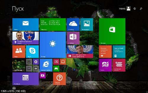 Windows 8.1 Enterprise x86/x64 Rus UralSOFT v.46.15