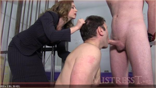 Hubby humiliation spank wife