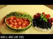 Школа карвинга: Цветы из овощей. Резьба по крупным плодам (2015) Видеокурс