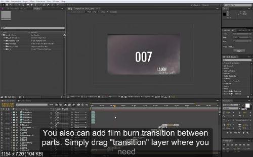 Слайд-Шоу Aftereffects [Lovely Slides] + видео инструкция