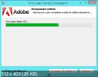Adobe components: Flash Player 18.0.0.209 + AIR 18.0.0.180 + Shockwave Player 12.1.9.160 RePack by D!akov [Multi/Ru]