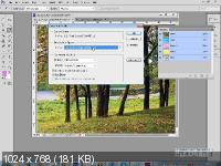 ���������� �� Adobe Photoshop �C. ������� 1-3 (2015/PCRec/Rus)
