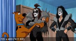 Скуби-Ду и KISS: Тайна рок-н-ролла (2015) DVDRip | Чистый звук