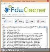AdwCleaner 5.002 - уничтожение нежелательных панелей инструментов в обозревателях интернета
