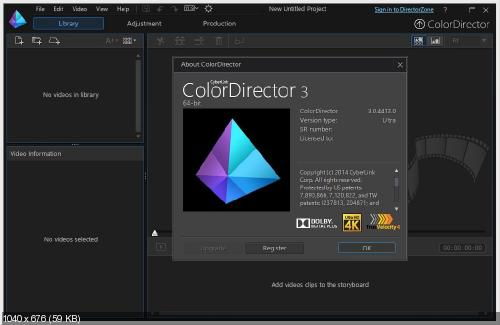 CyberLink ColorDirector Ultra 3.0.4413.0 Multilingual