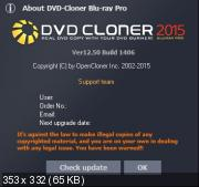 DVD-Cloner 2015 / Gold / Platinum 12.50 Build 1406