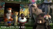 Мадагаскар: Коллекция / Madagascar: Сollection (2005-2014) (BDRip-AVC) 60 fps